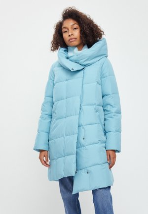 Down coat - light turquois