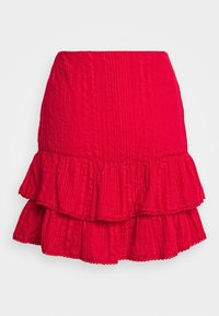 Nly by Nelly - FRILL STRUCTURE - A-line skjørt - red - 1