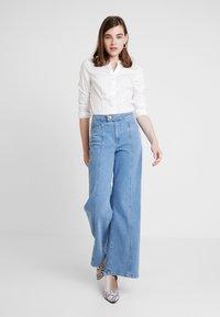 Vero Moda - VMLADY - Button-down blouse - snow white - 1