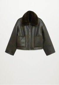 Mango - SPLASH - Winter jacket - kaki - 8