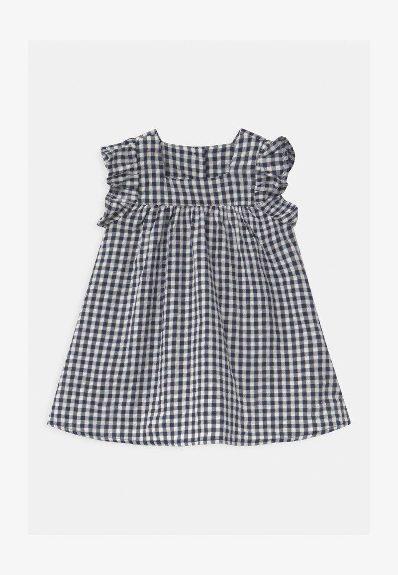 Cotton On - ANNIE FLUTTER SLEEVE  - Day dress - navy blazer