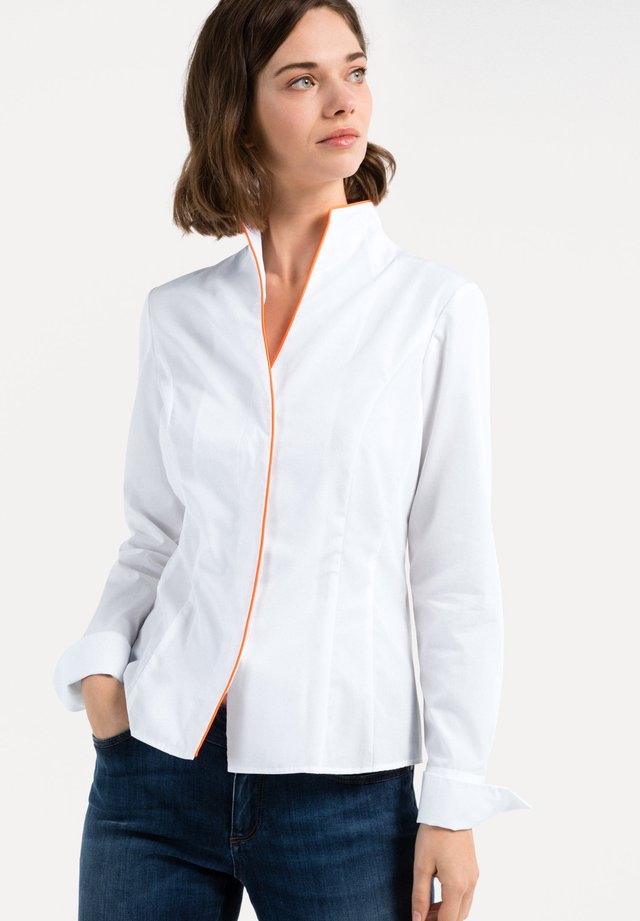 ALICE - Button-down blouse - white