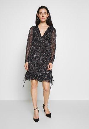 CASI MINI DRESS - Denní šaty - black
