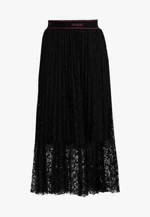 MALAK SKIRT - Pleated skirt - jet black