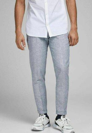 JPRRAY SID  - Suit trousers - light blue