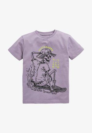 SKATER - T-shirt print - purple