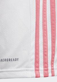 adidas Performance - REAL MADRID AEROREADY MINIKIT - Club wear - white - 5