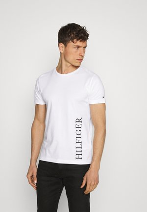 SMALL LOGO TEE - Print T-shirt - white