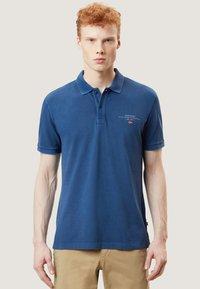 Napapijri - ELBAS - Polo shirt - dark denim - 0