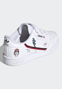 adidas Originals - CONTINENTAL 80 SHOES - Zapatillas - ftwr white/collegiate navy/scarlet - 3