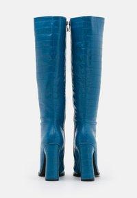 RAID - SPHERE - Bottes à talons hauts - blue - 3