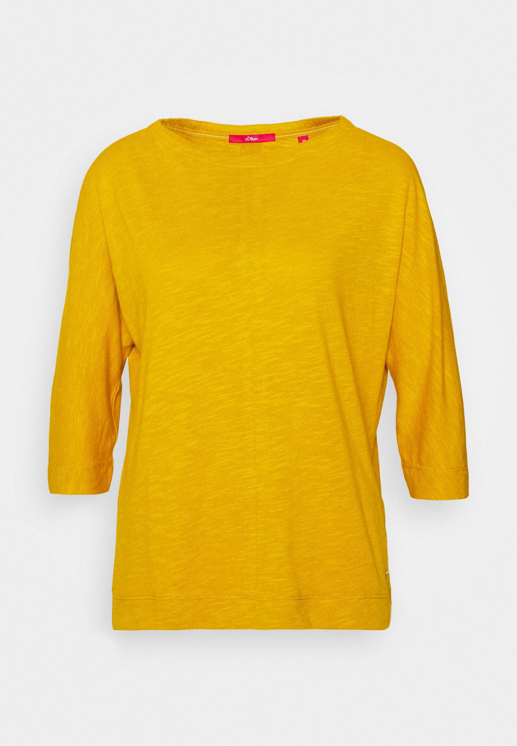 S.oliver Topper Langermet - Yellow/gul