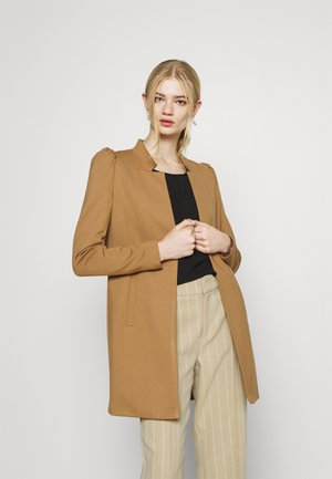ONLPOPTRASH SOHO LIFE PUFF COATIGAN - Short coat - toasted coconut