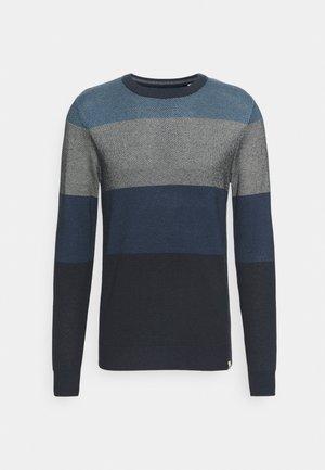 JORFINN CREW NECK  - Pullover - navy blazer
