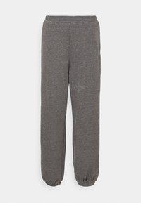 NA-KD X ZALANDO EXCLUSIVE - LOOSE FIT PANTS - Tracksuit bottoms - dark grey
