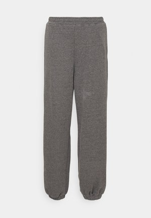 NA-KD X ZALANDO EXCLUSIVE - LOOSE FIT PANTS - Pantalon de survêtement - dark grey