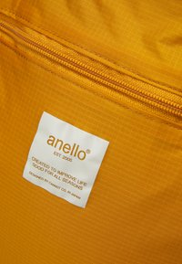 anello - SIMPLE TOTE BACKPACK - Rucksack - mustard - 4