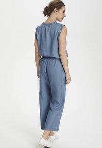 Cream - SUNACR  - Kalhoty - denim blue - 3