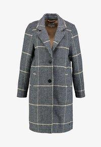 TOM TAILOR - CHECK COAT - Classic coat - black/navy - 4
