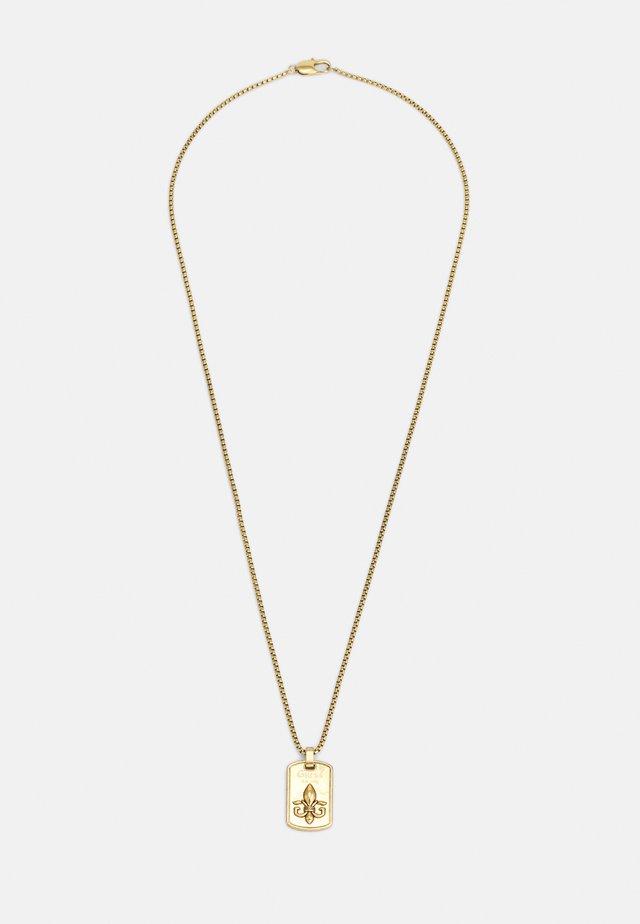 TAG PLATE GIGLIO UNISEX - Náhrdelník - antique gold-coloured