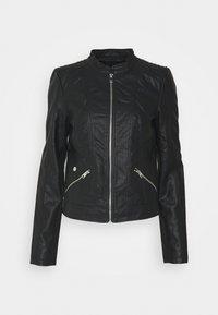 VMKHLOE FAVO  - Faux leather jacket - black