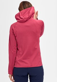 Mammut - Zip-up hoodie - red - 1