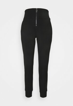 HUDA PANTS - Trousers - jet black