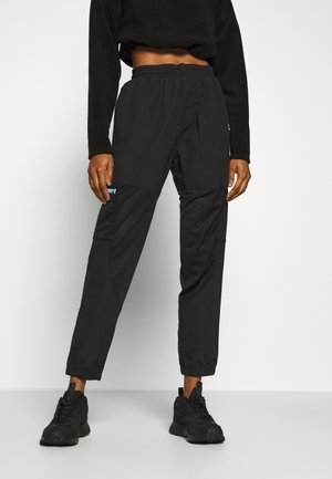 POCKET PANTS - Tracksuit bottoms - black