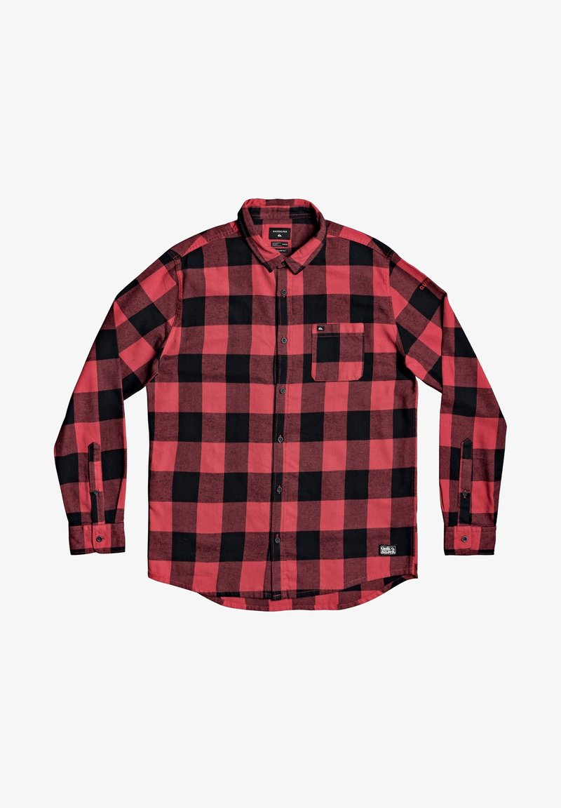 Quiksilver MOTHERFLY - Hemd - americas red motherfly/rot AT4LUX