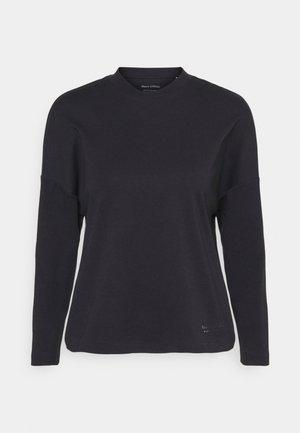 LONG SLEEVE HIGH NECK - Long sleeved top - black