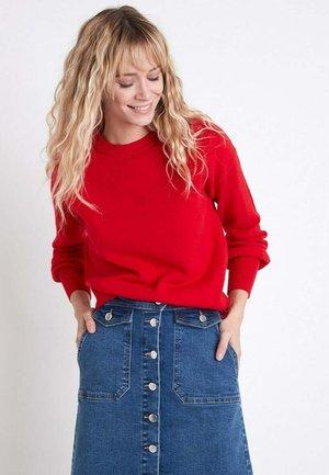 Sweatshirt - rouge