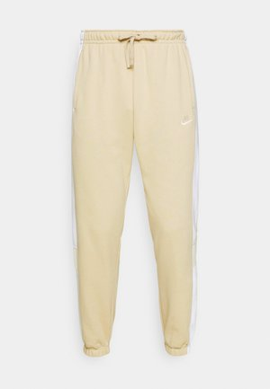Tracksuit bottoms - grain/white/coconut milk