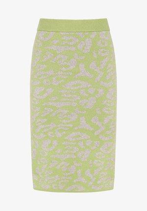 Pencil skirt - moos grau