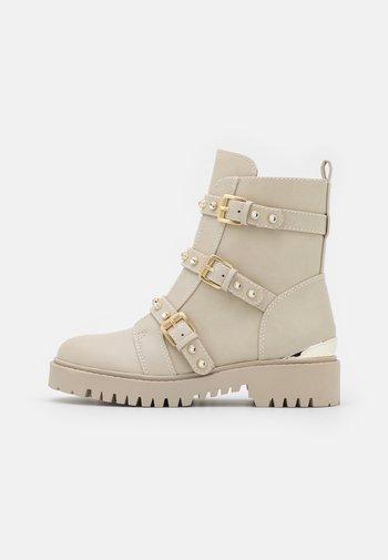 OCEA - Platform ankle boots - vanilla