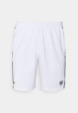 TENNIS SHORTS - Sports shorts - white/navy blue