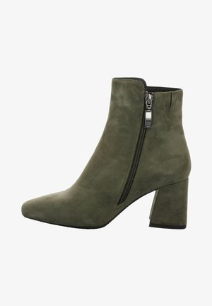ALBA - Ankle boots - oliv