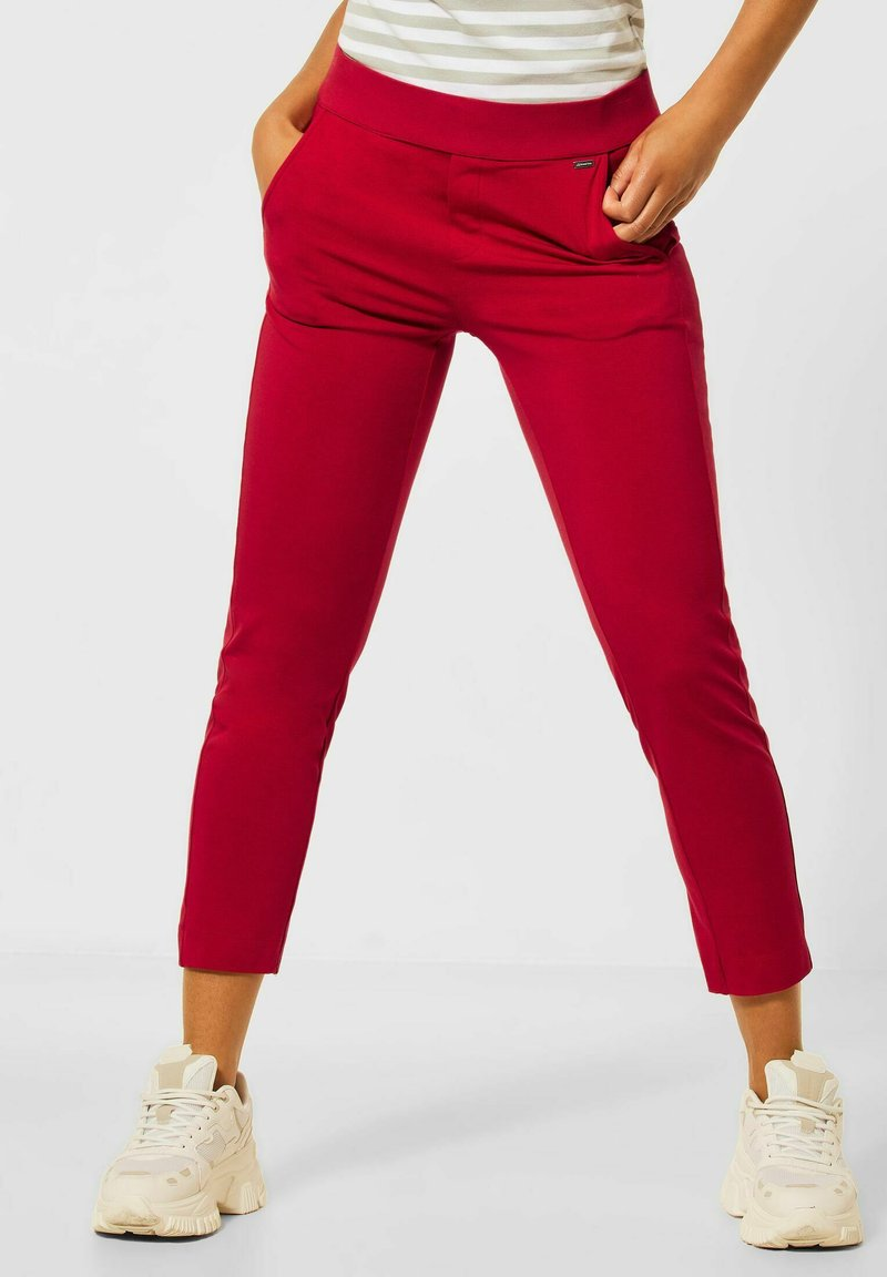 Street One - Trousers - rot
