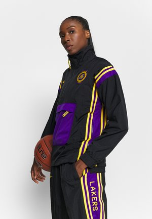 NBA LA LAKERS WOMEN TRACKSUIT - Treningsdress - black/amarillo/field purple