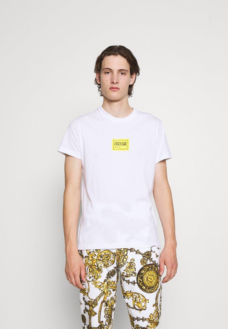 Versace Jeans Couture - Print T-shirt - bianco ottico