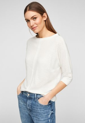 MET 3/4-MOUWEN - Long sleeved top - offwhite