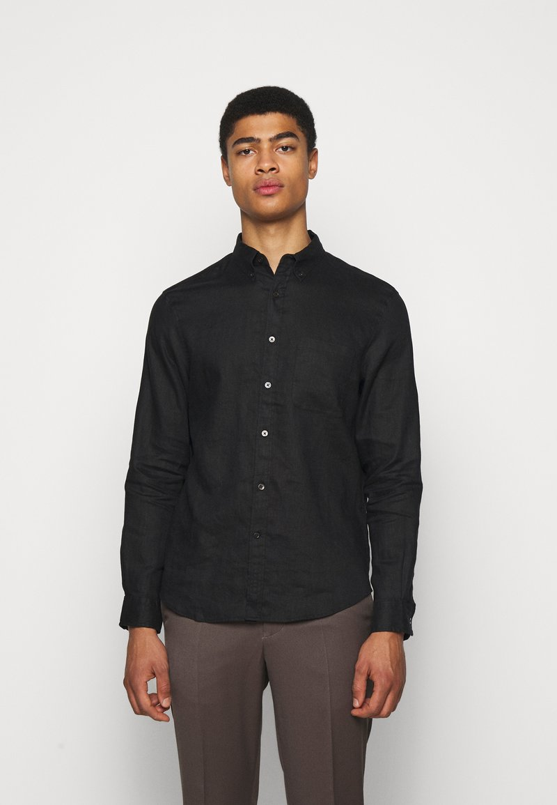 Club Monaco - SOLID  - Skjorta - black