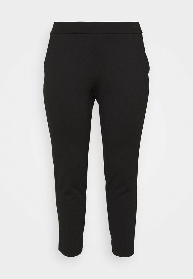 SOLID PULL ON  - Broek - black