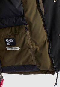 khujo - NANDU - Winter jacket - oliv-schwarz kombo - 10