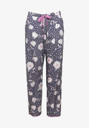 Pyjama bottoms - grey floral