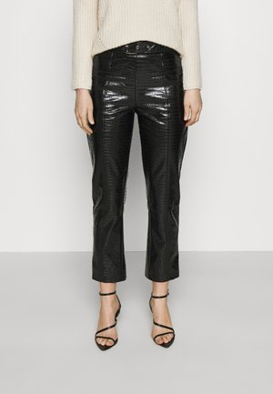 BROOKLYN TROUSER - Pantalones - black