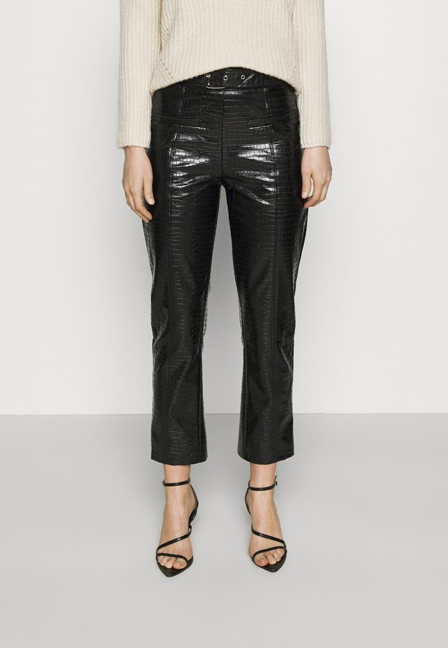 BROOKLYN TROUSER - Trousers - black