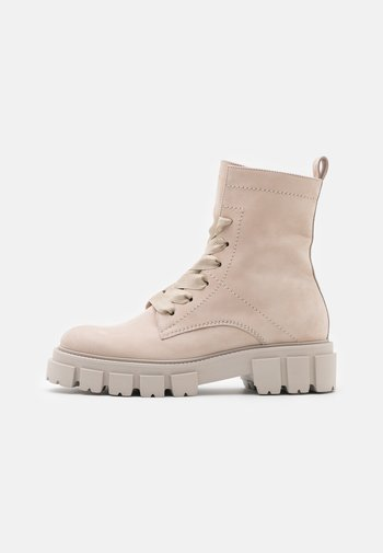 VIDA - Lace-up ankle boots - desert