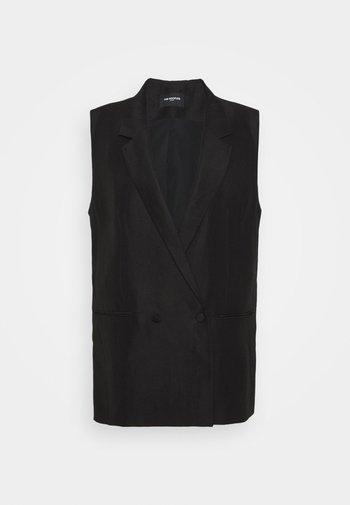 SUIT JACKET - Waistcoat - black
