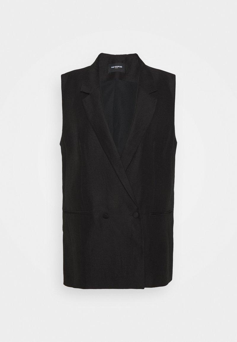 The Kooples - SUIT JACKET - Waistcoat - black