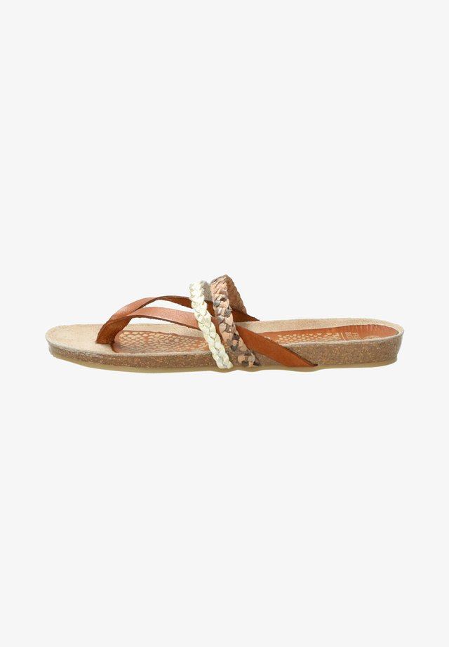 SANDAL - T-bar sandals - multi rose